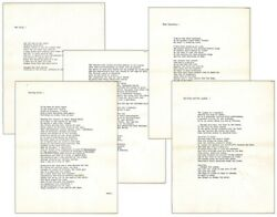 Michael Ondaatje / Four Poems Rat Jelly 1969