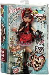 Ever After High Hat-tastic Cerise Hood Doll...new In The Box