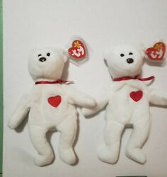 Valentino Ty Beanie Babys Collection, Two Different, Error