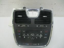 Temperature Control Ac Front Dash Fits 2011-2020 Grand Caravan Town And Country