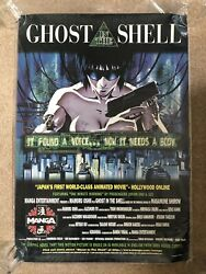 Ghost In The Shell 1995 Poster Advance One Sheet