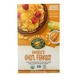 Nature's Path Organic Corn Flakes Cereal - Honeyd - Case Of 12 - 10.6 Oz.