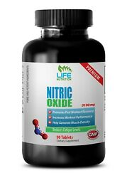 Endurance Boosting Supplement - Nitric Oxide 3150mg - Post Workout Recovery 1b