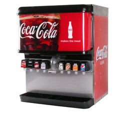 8-flavor Ice And Beverage Soda Fountain System Remanufactured