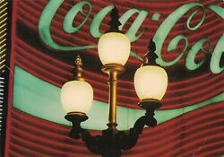 Coca-cola Street Light Piccadilly Circus Continental Postcard 2t7-20