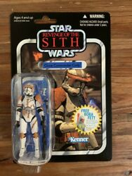 Star Wars Vintage Collection Clone Commander Cody Vc19 New And Sealed Read