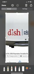 Winegard Pa-1000 Playmaker Portable Satellite For Dish Network