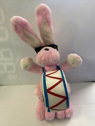 Energizer Pink Bunny Rabbit Plush Promo Toy With Drum 1994 20 Tall 1994