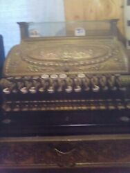 English From England Antique Cash Register Good Condition Must See Has English A