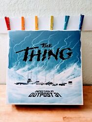 The Thing Infection At Outpost 31 Board Game Rare Oop Brand New Sealed