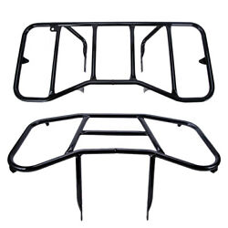 Front And Rear Luggage Rack Carrier For 2005-2020 Honda Recon 250 Trx250 Te Tm Atv