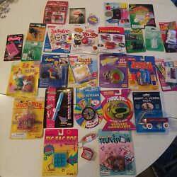 Lot 28 Vintage Mini Keychain Size Board Gamesandnbspclassic Toys Viewmaster Mouse Trap