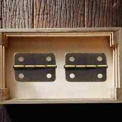 Antique Bronze/gold Cabinets Fittings Hinge Small Boxes Jewelry