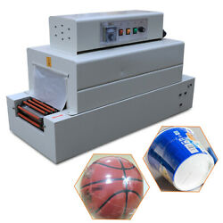 4800w Commercial Tunnel Heat Shrink Wrap Machine 26x15cm For Pvc/pe/pp Packaging