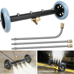 Pressure Washer Undercarriage Surface Cleaner Attachments Water Broom Under Car