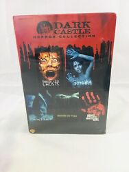 Dark Castle Horror Collection House Of Wax / Gothika / Ghost Ship [dvd] New