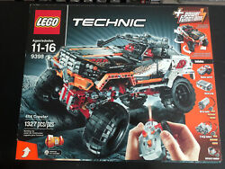 Lego 9398 Technic 4x4 Crawler Remote Controlled - New Factory Sealed