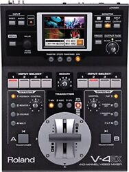 Roland V-4ex Four Channel Digital Video Mixer W/ Effects V4ex Ems Shipping