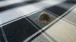Antique 1853 California Gold Octagon Coin Lapel Pin Tie Tack 14k Pin On Back