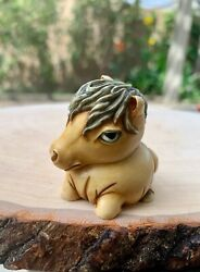 Harmony Kingdom Figurine Pot Belly Collection Naggy The Horse Foal