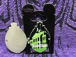 Disney Haunted Mansion Huge Wdi Pin 45th Anniversary Hinged Plaque New Le250