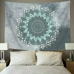 Cootime Mandala Tapestry Hippie Bohemian Flower Psychedelic Tapestry Wall