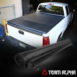 Fits 1982-1993 S10/s15/sonoma 6ft Short Bed Soft Top Roll-up Truck Tonneau Cover