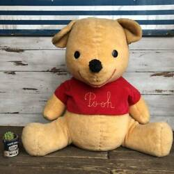 70s Pooh Disney Winnie The Plush Toy Oversized 75 Vintage Doll Teddy Country