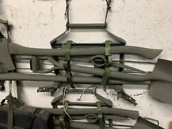 Pioneer Set Military Issue Over 50 Sold Axe Shovel Pickaxe And Rack