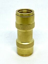 Brass Dot Push-to-connect 5/8t Straight Union Nylon Tube Air Brake Fitting