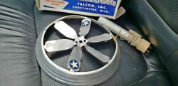 Super Rare Original Vintage 1950's Flying Saucer Toy With Box By Falcon Toys