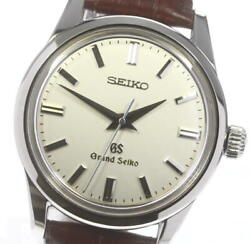 Seiko Grand Seiko Sbgw001/9s54-0030 Silver Dial Hand Winding Menand039s Watch_608468