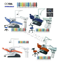 4styles Dental Chair Unit Computer Controlled Exam Dc Motor Chair Hard Leather