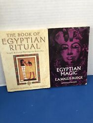 Alot Of Egyptian Magic And Egyptian Ritual Books By Dover And Almond And Seddon