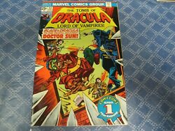 Tomb Of Dracula 42 Mar 1976 High Grade/vfnm Ow Pages Wolfman/colan Story/art