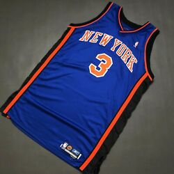 100 Authentic Stephon Marbury Ny Knicks Game Issued Jersey 48+2