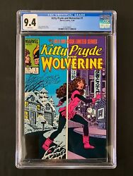 Kitty Pryde And Wolverine 1 Cgc 9.4 1984