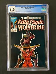 Kitty Pryde And Wolverine 4 Cgc 9.6 1984