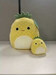 Squishmallow Bundle 5 And 12 Maui The Pineapple Nwt