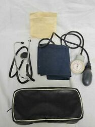 Vintage Russian Stethoscope And Sphygmomanometer Set With Documents