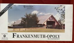 Vintage Frankenmuth Opoly Board Game Based On Frankenmuth Michigan New Sealed