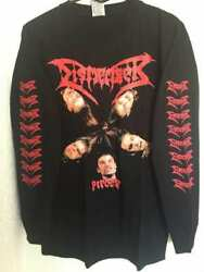 Dismember Long Sleeve Xxl Shirt Hypocrisy Entombed In Flames Sadus At The Gates