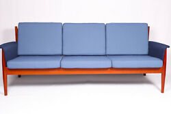 Three Seater Midcentury Teak Sofa By Grete Jalk For France And Sons 1960