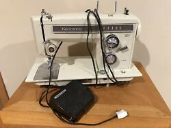 Sears Kenmore Portable Sewing Machine W/ Foot Pedal Model 158. 13571 Vtg 1960's