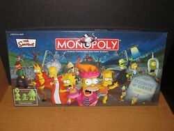 The Simpsons Treehouse Of Horror Monopoly Mint Condition Game