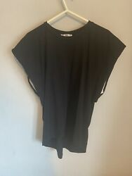 Women's Black Zara Top Size Small. Excellent Condition GBP 3.00