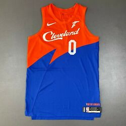 100 Authentic Kevin Love Nike Cavaliers City Game Issued Jersey 50+4 Xl