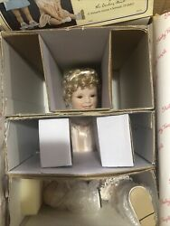 Shirley Temple Toddler Collection Little Miss Shirley Porcelain Dollnew