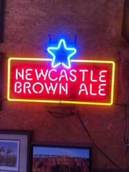 Newcastle Brown Ale Neon Light Sign