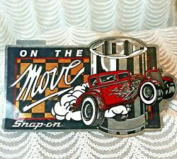 On The Move Snap-on Tools Bumper Sticker Decal Racing Mechanic Muscle Car